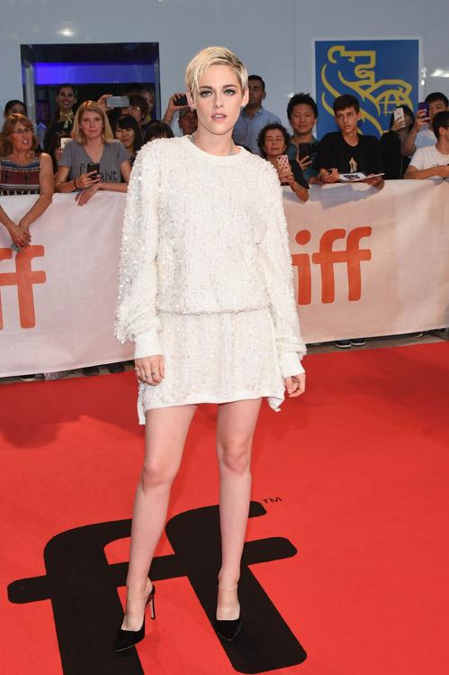 Kristen Stewart wore Chanel at 2018 Toronto International Film Festival (photo by Sonia Recchia)
