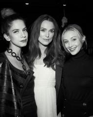 Caitlin, Keira & Sarah - Chanel & Variety Honour Keira Knightley at the Inaugural Female Filmmaker Dinner, Toronto International Film Festival