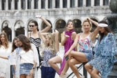 Modelle Triumph a Venezia