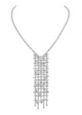 Chanel Tweed Brode Necklace