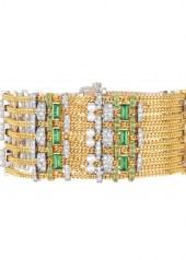 Chanel Tweed Chaine Bracelet