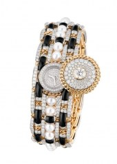 Chanel Tweed Contraste Watch open