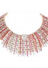 Chanel Tweed Couture Necklace
