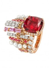 Chanel Tweed Couture Ring