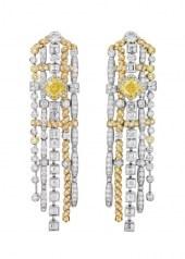 Chanel Tweed d'Ete Earrings