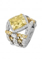 Chanel Tweed d'Ete Ring