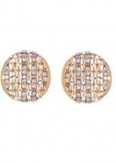 Chanel Tweed d'Or Earrings