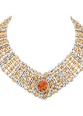Chanel Tweed d'Or Necklace