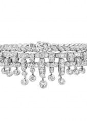 Chanel Tweed Frange Bracelet