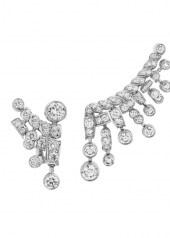 Chanel Tweed Frange Earrings
