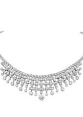 Chanel Tweed Frange necklace