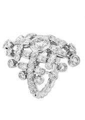 Chanel Tweed Frange Ring
