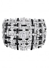Chanel Tweed Graphique Bracelet