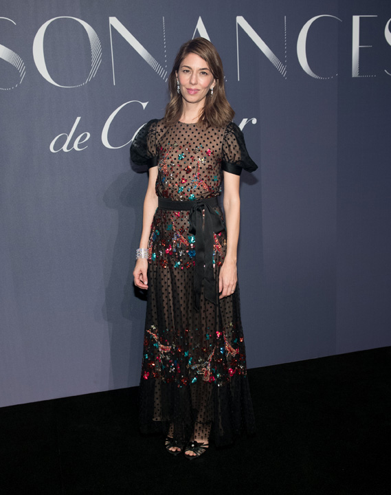 Celebrity Sightings in New York City: Sofia Coppola in Chanel (photo by Noam Galai)