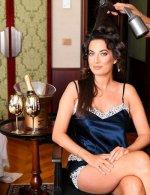 Giulia Valentina in Belfiori Couture . Moët & Chandon Venice