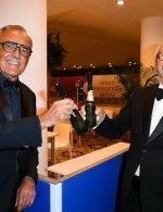 Alberto Barbera & Roberto Cicutto . Moët & Chandon Venice