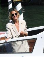Anna Foglietta in Giorgio Armani is the godmother of the 77th Venice International Film Festival.