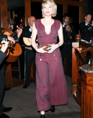 Haley Bennett wearing  Chanel .Chanel & Charles Finch Tenth Annual Pre-Oscar Awards Dinner (photo Owen Kolasinski/BFA.com)