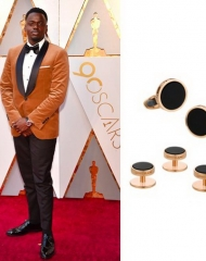 Daniel Kaluuya wearing Montblanc . 90th Academy Awards