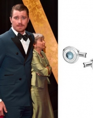 Garrett Hedlund wearing Montblanc . 90th Academy Awards