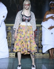 Vivienne Westwood collection is entirely dedicated to Andreas Kronthaler Spring Summer 2018 women\'s Collection