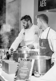 "Arrigoni . Italian cooks: the stars of ""When Food Meets Fashion"" event"