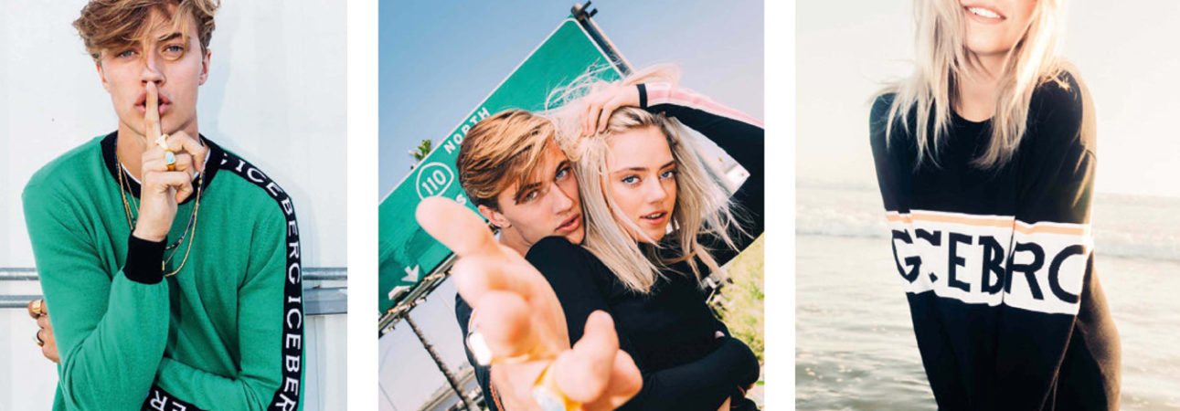 Iceberg, Fall Winter, Lucky Blue Smith, Piper America Smith