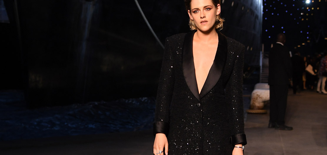 Kristen Stewart Chanel 2018-19 Cruise Collectionin Paris . ph by Pascal Le Segretain