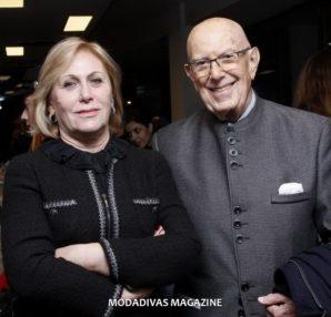 Fulvia Bacchi and Mario Boselli