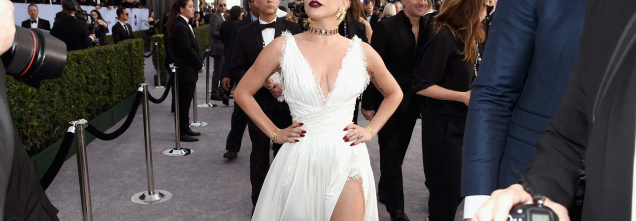 Lady Gaga veste Dior 25th Annual Screen Actors Guild Awards
