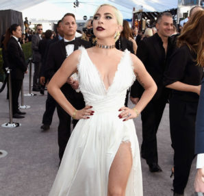 Lady Gaga veste Dior 25th Annual Screen Actors Guild Awards
