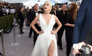 Lady Gaga attends the 25th Annual Screen Actors Guild Awards
