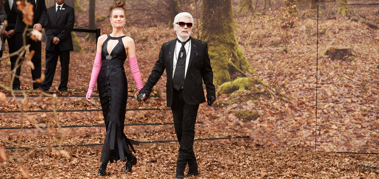 Karl Lagerfeld, Creative Director for Chanel and Fendi