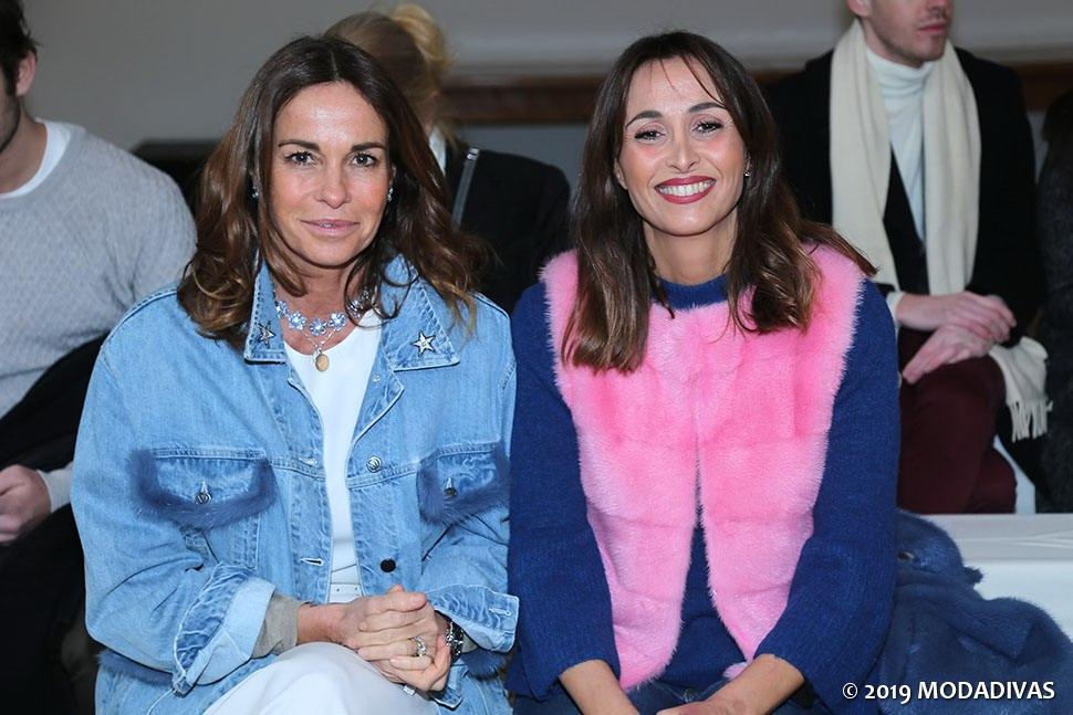 Cristina Parodi & Benedetta Parodi . Simonetta Ravizza guests (photo by Giuseppe Spena)