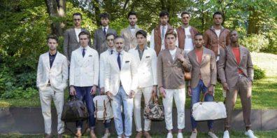 Marco Baldassari models . Eleventy Spring Summer 2020