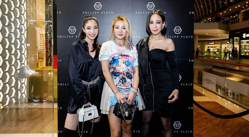 (L-R) Amanda Chaang, DJ Hyo, Fiona Xie
