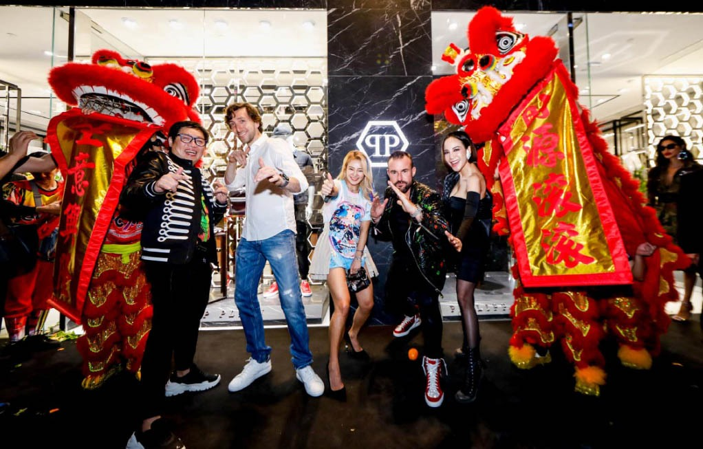 Dato Lua Choon Hann, Ennio Fontana, DJ Hyo, Philipp Plein, Fiona Xie