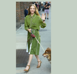 Amanda Seyfried; August 6, New York City; celebrities; wearing; actress