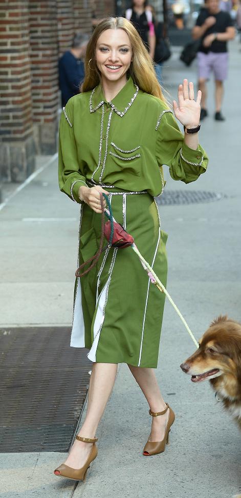 Amanda Seyfried; August 6, New York City; celebrities; wearing; actress