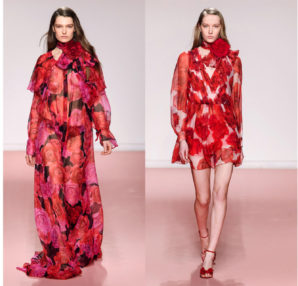 "Anna Molinari""Rose maxy"" Blumarine Fall Winter 2029 collection"