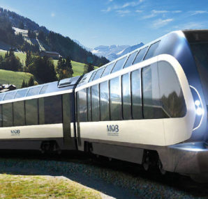 Goldenpass Express redesigned by Pininfarina