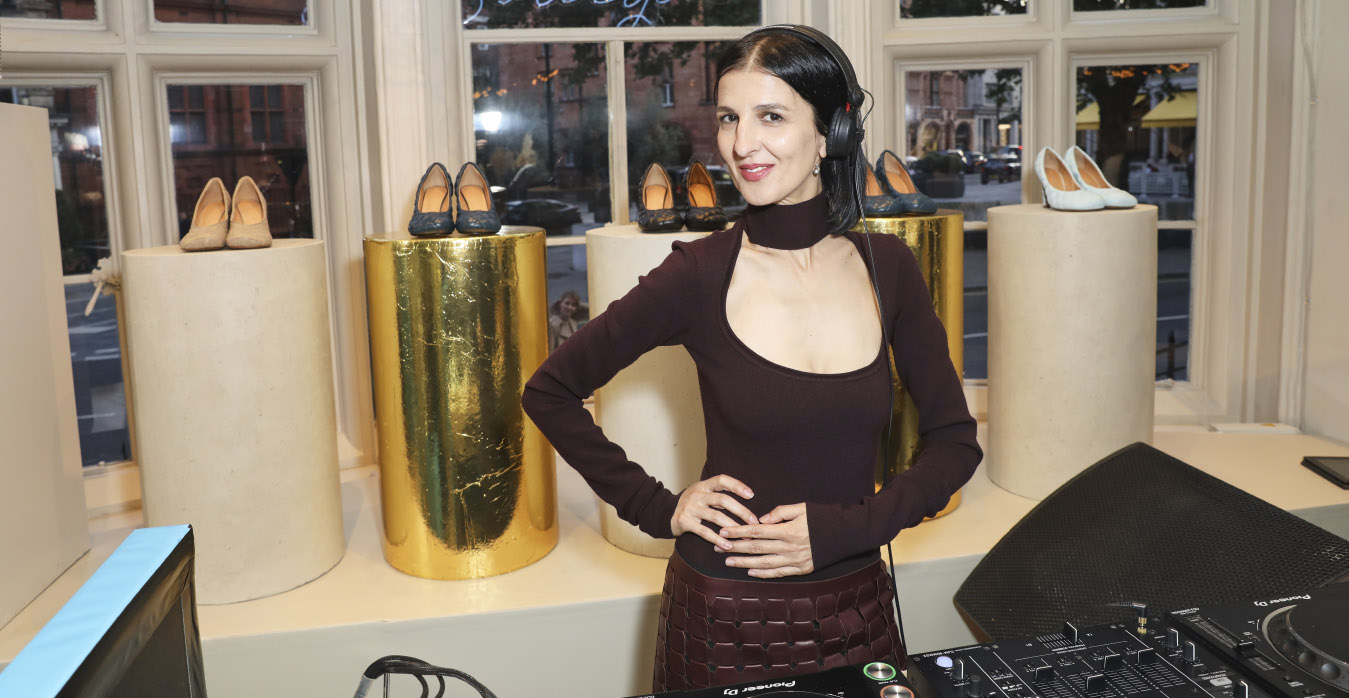 DJ Yasmina Dexter at MATCHESFASHION.COM X Bottega Veneta Event