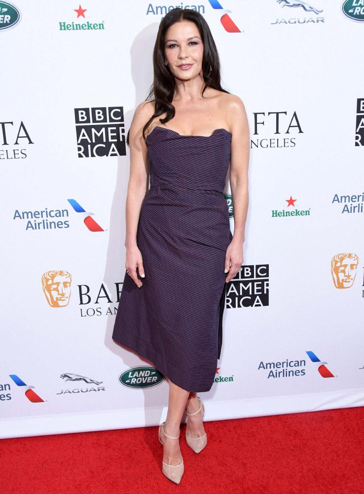 Catherine Zeta Jones wore Vivienne Westwood in
