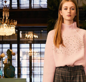 BeBlumarine warm knitwear Fall Winter 2019/20 collection