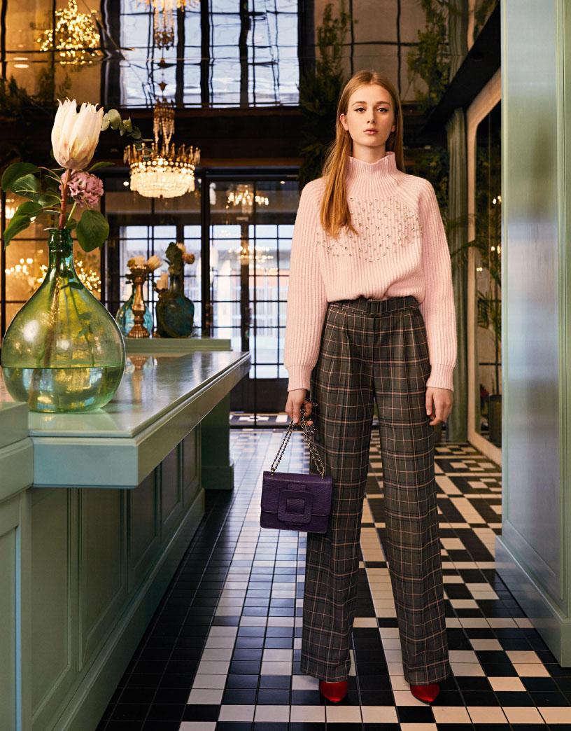 BeBlumarine warm knitwear Fall Winter 2019/20 collection