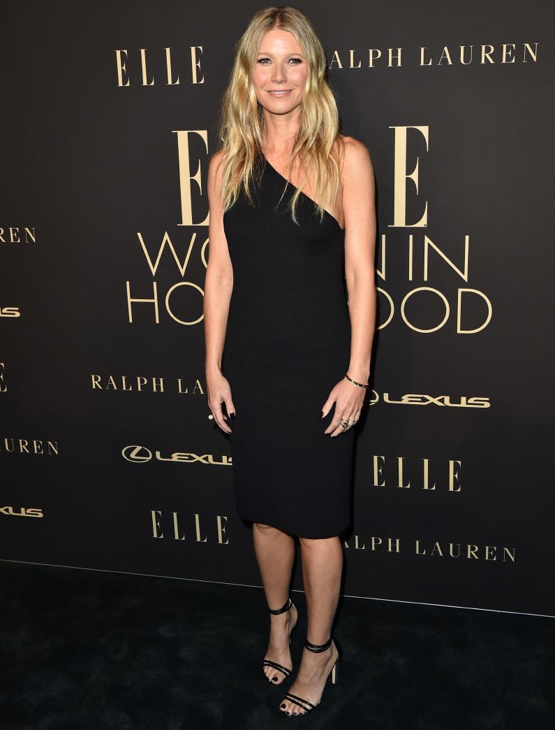 Gwyneth Paltrow wearing Bottega Veneta S20 Knit Dress