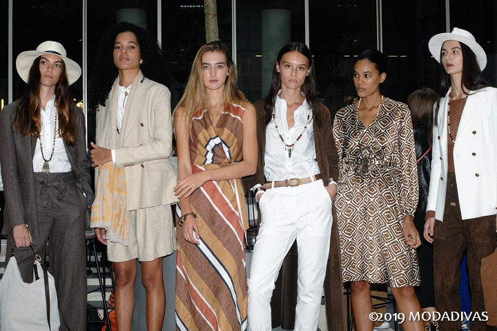 Eleventy Spring Summer 2020 women's collection . photo by Giorgio Cavestro
