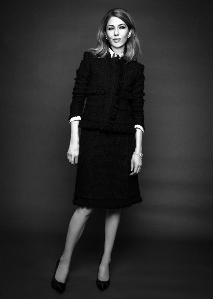 Sofia Coppola wore Chanel © Damon Baker Figarophoto