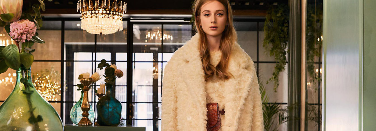 Be Blumanrine Eco Fur Fall Winter 2019 collection