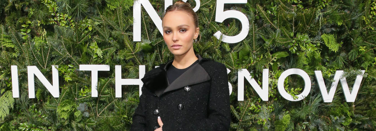 Lily-Rose Depp, Chanel Ambassador and face of Chanel N ° 5 L'Eau (photo by Matteo Prandoni/BFA.com)
